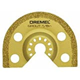 Dremel MM500 1/8-Inch Multi-Max Carbide Grout Blade (Color: Gold)