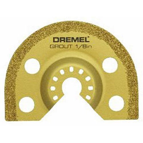 Dremel oscillating tool blades for grout removal