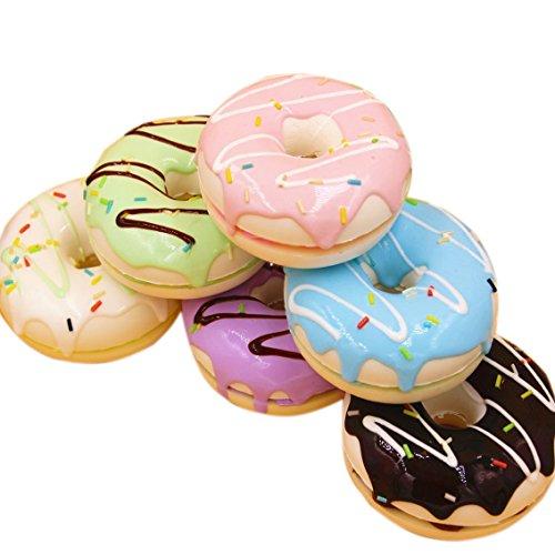 "Eworld - Squishy Doughnut Toy - 3 Pcs 2""Jumbo Slow Rising..."