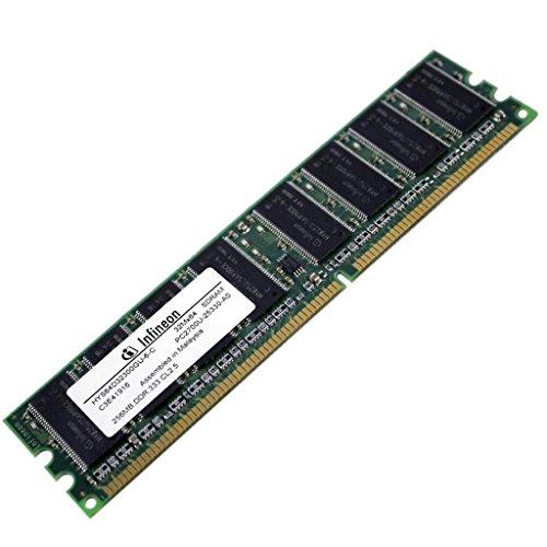 Infineon Ddr Memory - Infineon HYS64D32300GU-6, C3844124 256MB 32Mx64 DDR SDRAM Memory T62587
