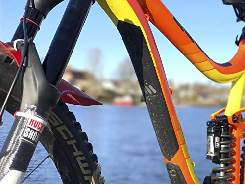 High Impact XL Frame Guard for Bicycle ALL MOUNTAIN STYLE Honeycomb
