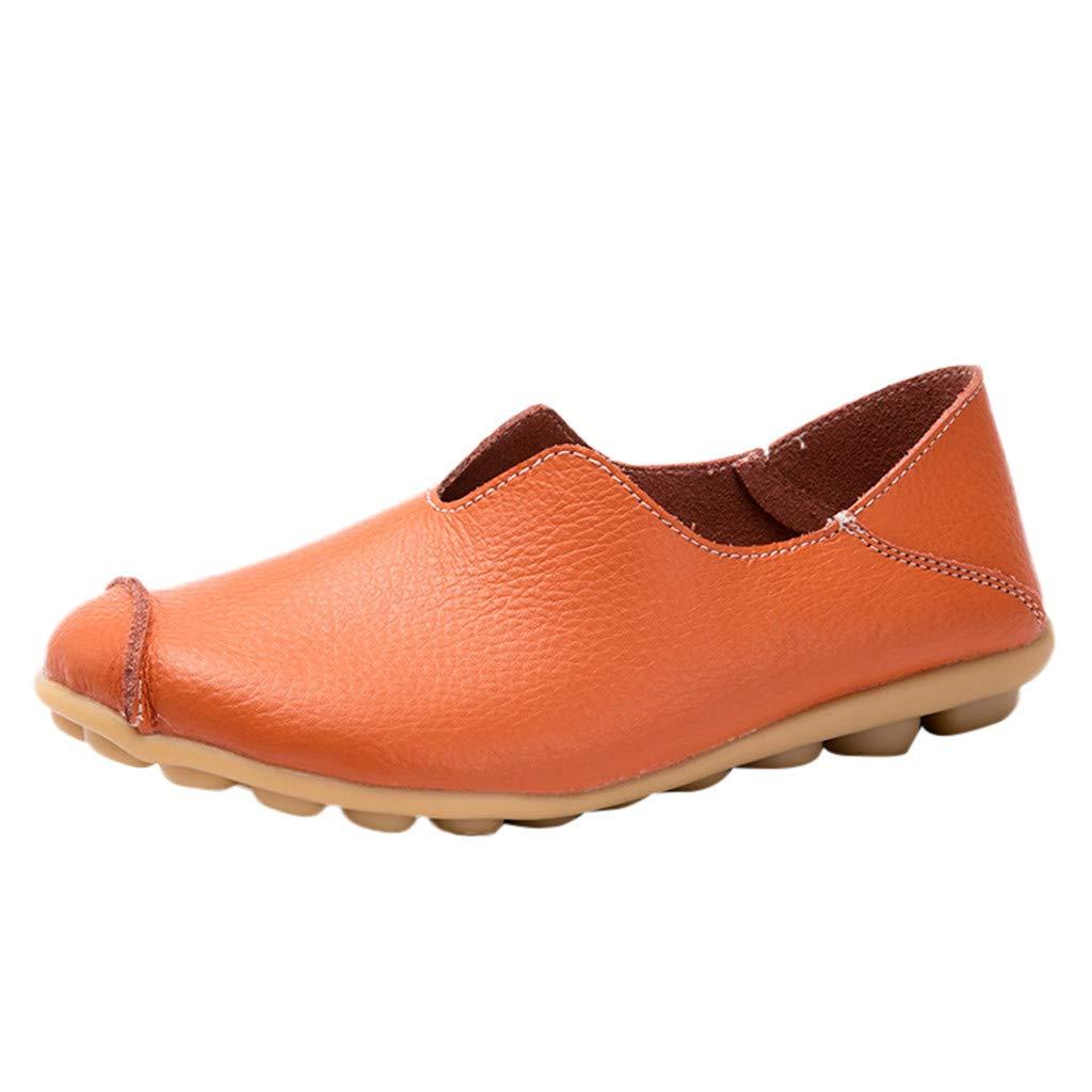 LILICAT✈✈ Ocio Mujeres Zapatos Redondos con Punta Hueca sin Cordones Zapatos Planos Individuales Guisantes Botas Mujeres&Niña Zapatos Latinos de Baile ...