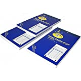 3 Sales Order Receipt Book Carbonless Record Sheet Forms 4 3/16'' x 7 3/16''