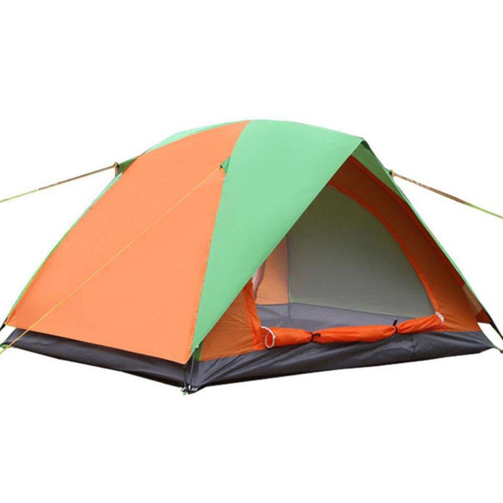 Zelt-Zelt-Doppelt-Campingzelt im Freien im Freien automatisches Zelt-wasserdichtes winddichtes für das Kampieren / Wandern 2000-3000 Millimeter Oxford
