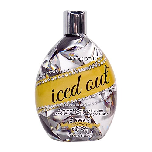 Tan Asz U ICED OUT 200X Black Bronzer - 13.5 oz.