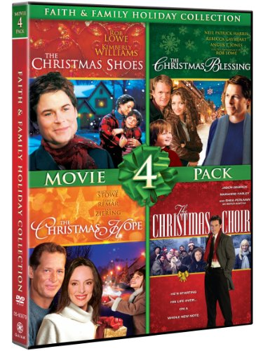 Faith & Family Holiday Collection Movie 4 Pack (The Christmas Shoes, The Christmas Blessing, The Christmas Hope, The Christmas Choir) by Gaiam