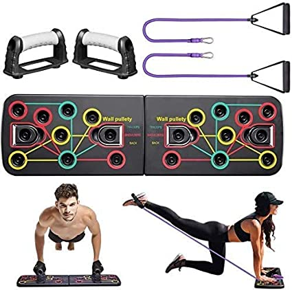 Multifunktionale Liegestützgriffe Multi Push up Stand Brust Schulter Arm Trainin