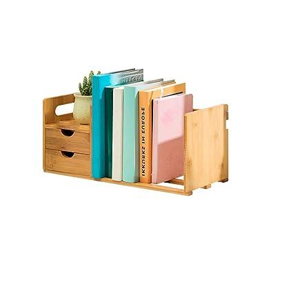 more photos 8de45 cd5dd Amazon.com: CQ Simple Table Shelf Rack Student Mini Desktop ...