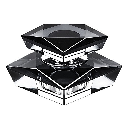 Pesp Car Auto Crystal Seat Polygons Perfume Block Octagonal Drill Diamond Air Fresheners (Black)