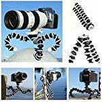 Ceuta Retails Hoji Fully Flexible Foldable Twist It , Bend It, Tilt It, Octopus Gorilla Tripod Stand Combo for DSLR's, Mobile Camera, Smartphone, Photography, Video Recording, Youtuber, 13 inch 6