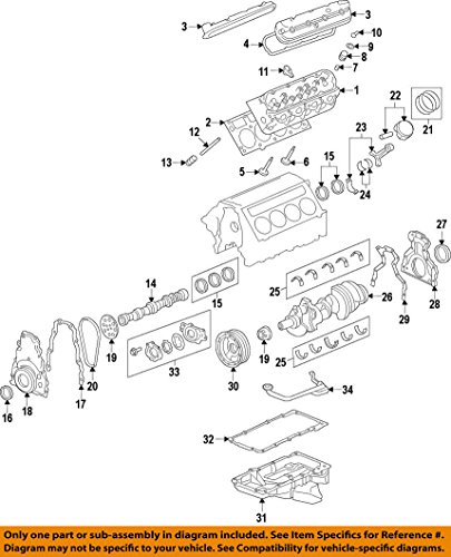 Ls2 Timing Chain - General Motors 12646386, Engine Timing Chain