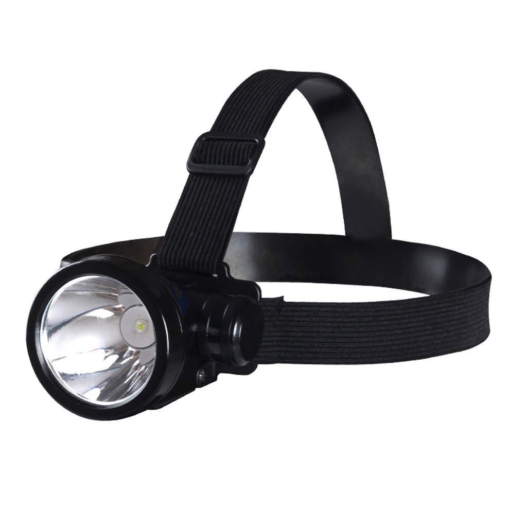 LFFTDM Linterna Frontal LED Recargable de Largo Alcance Pesca Nocturna Casa Exterior Senderismo Auricular Linterna Pequeñ a lá mpara de minero