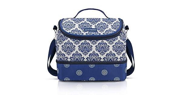 d673e6d45 Bolsa Térmica com 2 Compartimentos Bella vitta Microfibra Aluminio Azul - Jacki  Design: Amazon.com.br: Ferramentas e Construção