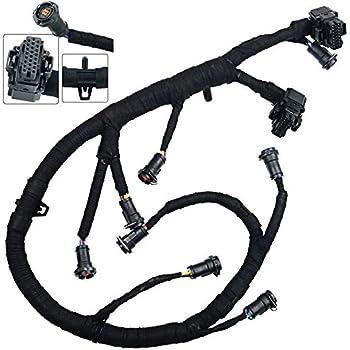 amazon com ficm engine fuel injector complete wire harness rh amazon com