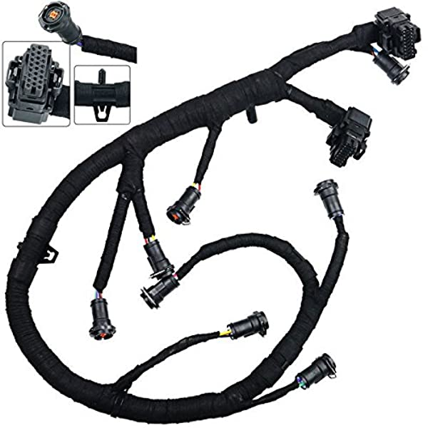 Amazon.com: FICM Fuel Injector Module Wiring Harness For 2003-2007 Ford  F250 F350 F450 F550 Super Duty 6.0L Powerstroke Diesel: AutomotiveAmazon.com