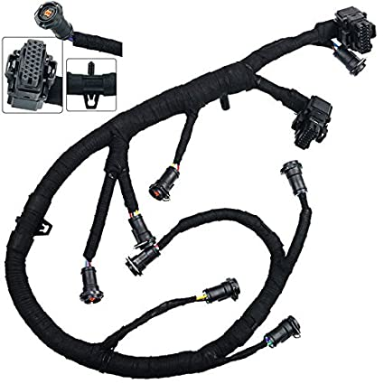 amazon com: ficm fuel injector module wiring harness for 2003-2007 ford  f250 f350 f450 f550 super duty 6 0l powerstroke diesel: automotive