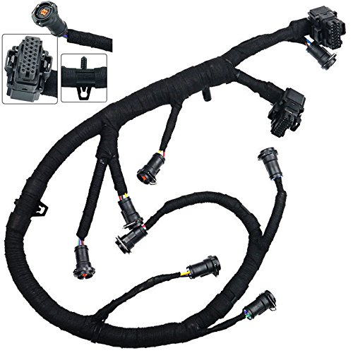 FICM Fuel Injector Module Wiring Harness For 2003-2007 Ford F250 F350 F450 F550 Super Duty 6.0L Powerstroke Diesel - Fuel Injector Control Module