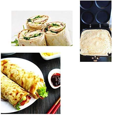 AOOA 1 poêle à omelette à 4 trous pour cuisiner à gâteau, poêle, poêle, poêle, poêle, poêle, four antiadhésif, fumée, barbecue