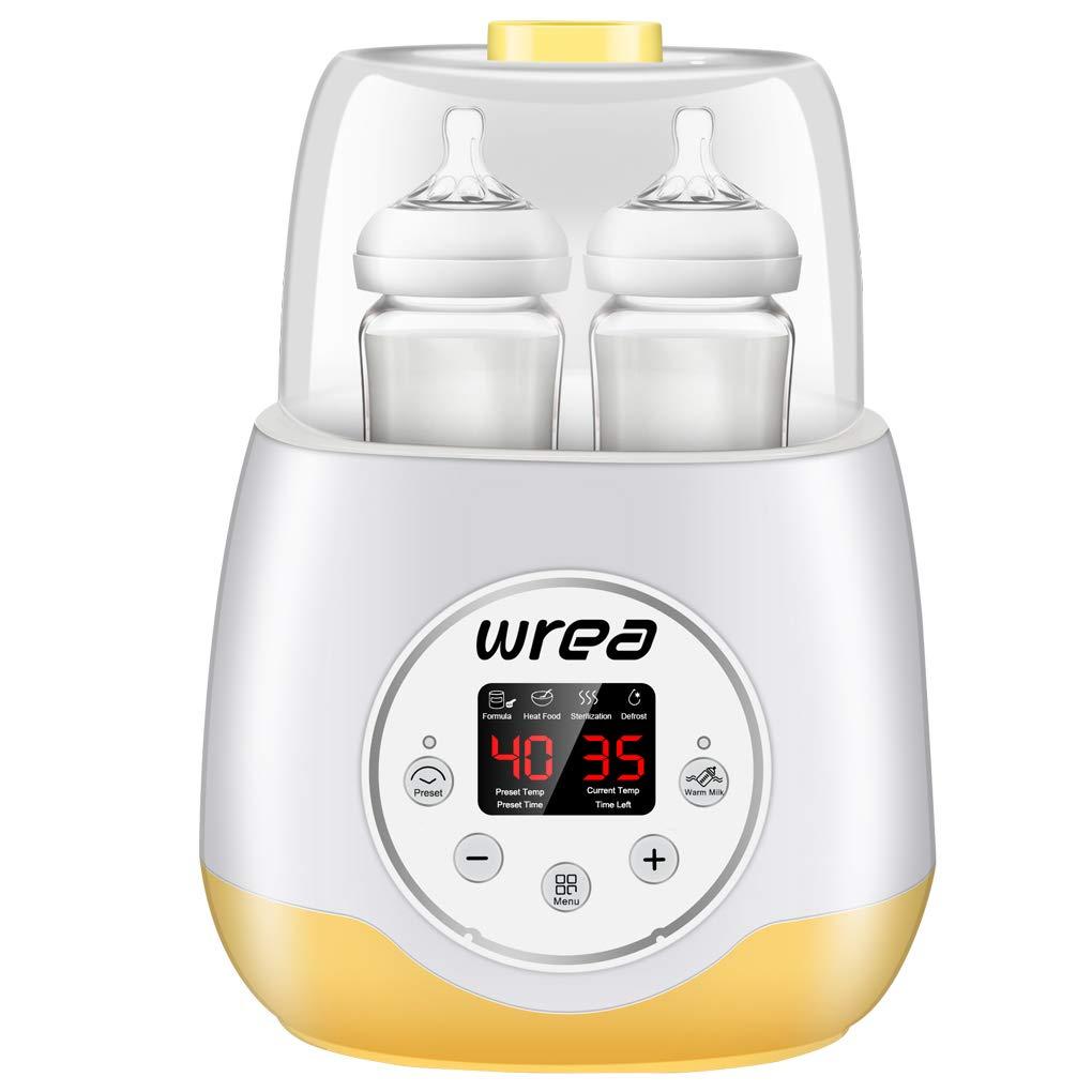 Acquisto Uzinb Multifunzionale a Doppia Alimentazione del Bambino Bottiglia sterilizzatore Babyfood riscaldatore Caldo Latte materno Warmer Prezzi offerte