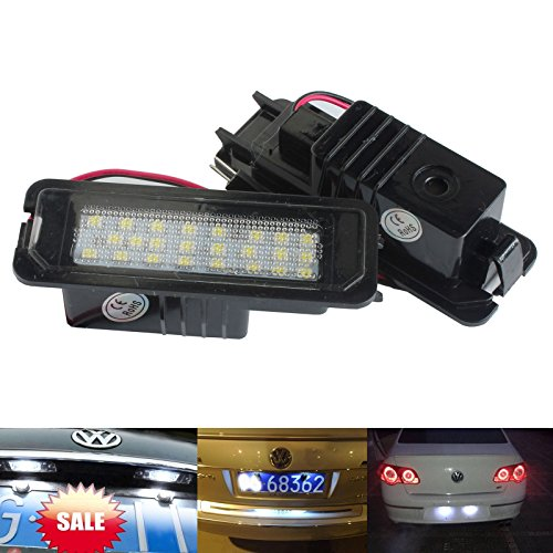 Mk5 Golf Led Number Plate Lights in US - 6