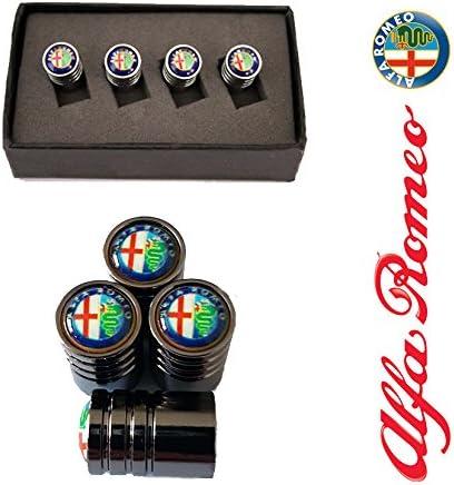 Tapones para válvulas con diseño del logo de Alfa Romeo, color ...