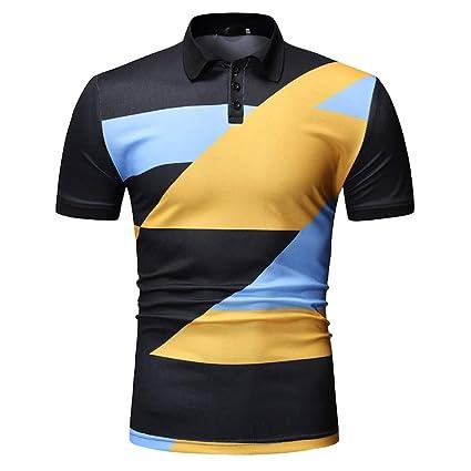 YOGPP Camisa Polo Casual para Hombre: Amazon.es: Ropa y accesorios