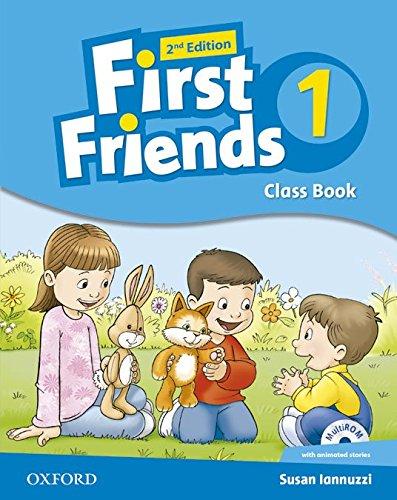 First friends. Classbook. Con espansione online. Per la Scuola elementare: Little and First Friends 1: Class Book Multi-ROM Pack 2nd Edition (Little & First Friends Second Edition) - 9780194432368