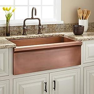 51CYgRBcqvL._SS300_ Copper Farmhouse Sinks & Copper Apron Sinks