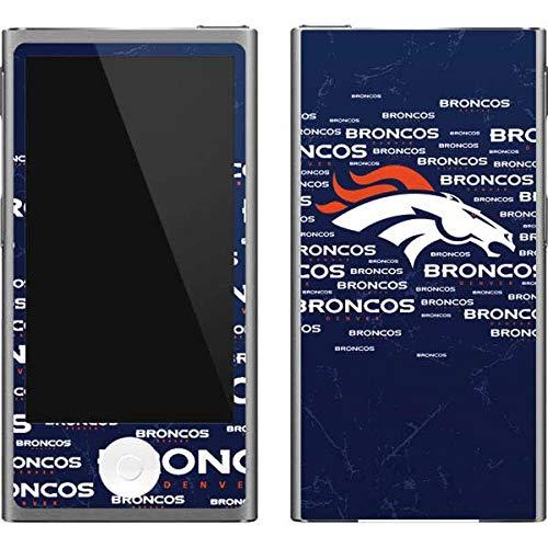 - Skinit NFL Denver Broncos iPod Nano (7th Gen&2012) Skin - Denver Broncos Blue Blast Design - Ultra Thin, Lightweight Vinyl Decal Protection