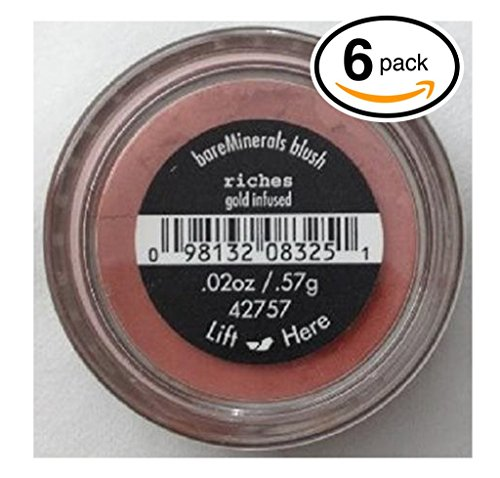 pack-of-6-bare-minerals-bare-escentuals-riches-42757-blush-makeup-gold-infused-warm-earth-pink-ideal