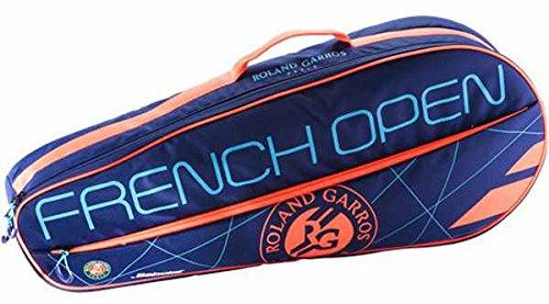 Babolat RH X 3Club RG/FO Hüllen Tennistasche, Unisex Erwachsene, Blau/Rot, Einheitsgröße