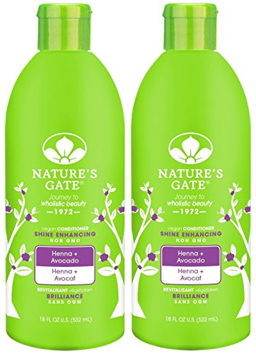 Nature's Gate Henna Shine, Enhancing Conditioner - 18