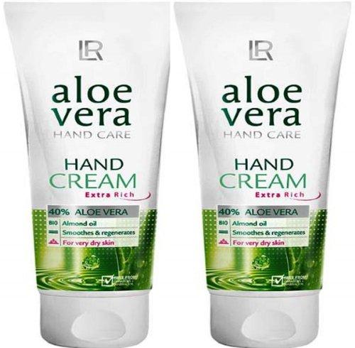 1a LR 20118 ALOE VERA - Reichhaltige Handcreme 40% Aloe Vera --- 2x 75ml
