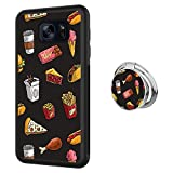 Samsung Galaxy S7 case Fast Food Full Body Case with Holder Ring Cover Protector Heavy Duty Protection case Shockproof case for Samsung Galaxy S7