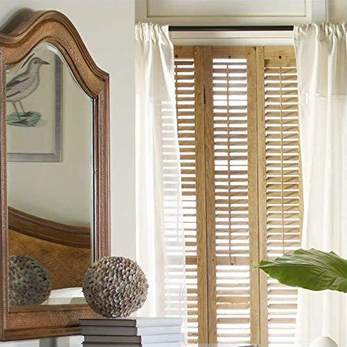 Hooker Furniture Windward Raffia Mirror by Hooker Furniture