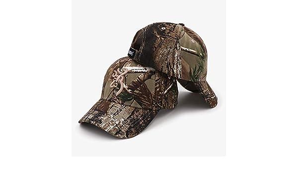 1 Pcs Browning Cap Hat Gorras de béisbol Mujeres Hombres Algodón ...