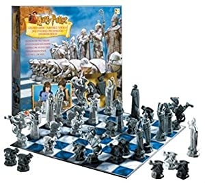Original Harry Potter Chess Set from Sorcerer's Stone Film Release in 2002