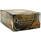 Quest Nutrition Cravings Cups, Peanut Butter, 1.76 Ounce Bars, 12 Count