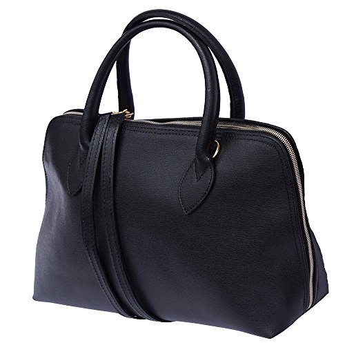Noir Sac Femme En Cuir Saffiano Pour Cartable Florence Market 308 Leather Business 1xFqEFYP