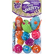 Hartz Just For Cats 13 Piece Cat Toy Value Variety Pack