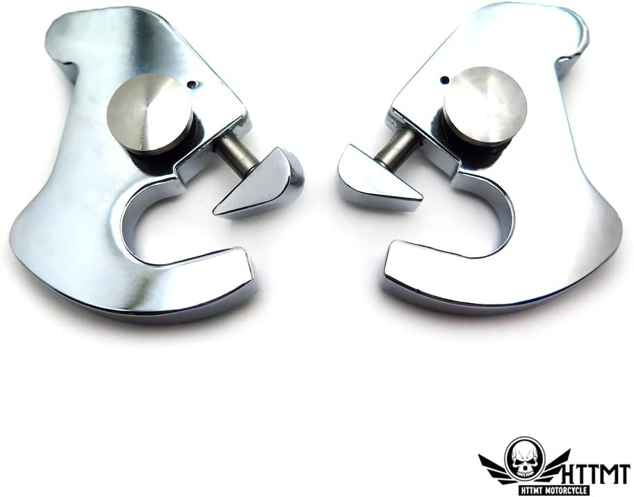 Locking Rotary Docking Latch Clips for Harley Road Glide Street 500 750