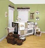 Trend Lab Baby Nursery Room Dr. Seuss ABC 4PC Crib Bedding Set Quilt, Sheet, Bed Skirt, Bumper