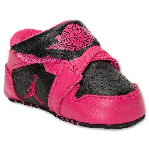 Nike Jordan Toddler Jordan 1st Crib (Cb) Black/voltage Ch...