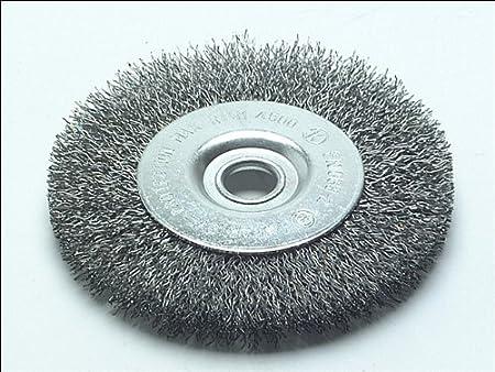 Green Metabo 630551000 Steel-Wire Wheel Brush 100 mm coarse