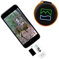 TLO Outdoors TrophyTracker Trail Camera Viewer for iPhone, Android, iPad - Great for Hunters and Sportsmen, Includes Extender and Protective Carrying Case (SD/MicroSD/USB Card Reader)