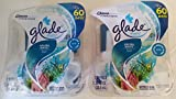 4 Glade Plugins Aruba Wave Fragrance Scented Oil Refills Scents 2 New Packs