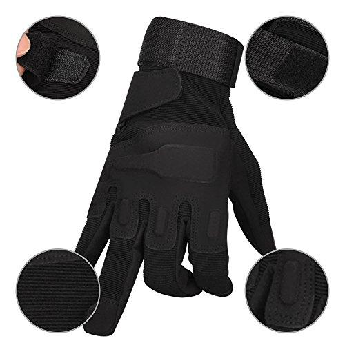 Oziral Gants Tactiques, Plein-Doigt Unisexe, Complet Protection Auto Moto, Camping, Randonné, Vélo ou d'autres Activités… 5