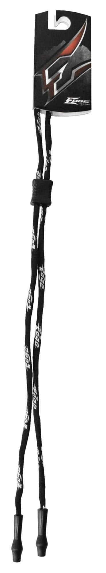 Edge Eyewear Eyewear Rtnr Logo Cord, Bk, 12 In, Nyl - 9706 by Edge Eyewear