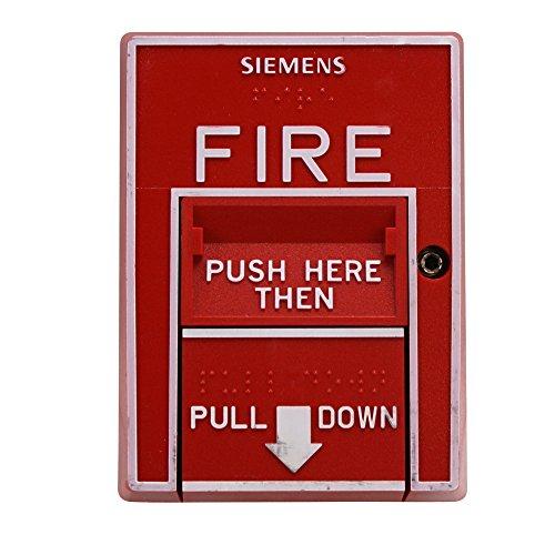Siemens MSI-20B 500-893081 Fire Alarm Double Action Manual Pull Station (Alarm Fire Siemens)