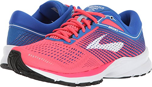 Brooks Women's Launch 5 Pink/Blue/White 10.5 B US